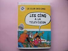 Les Cinq à la télévision             LE CLUB DES CINQ
