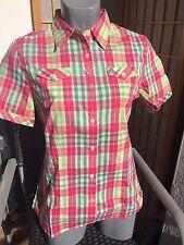 McKinley Damen Wander Outdoor Bluse ANZA multicolor blau lila Bekleidung Damen