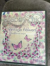 Debbi Moore Designs Shabby Chic Vintage Flowers CD Rom (290915)