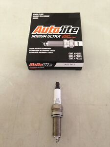 NEW FOUR(4) Autolite AI5702 Iridium ULTRA Spark Plug SET *$3 PP FACTORY REBATE*