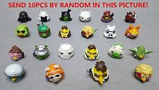 NO QR BARCODE LOT 10pcs Different Angry Birds Star Wars Figures Telepods Toys #2