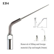 1pc Ultrasonic Dental Scaler Endo Root Canal Tips For Woodpecker Dte Satelec Ed4