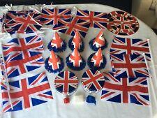 Union Jack Themed Party or Wedding Celebrations Decorations