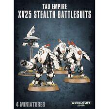 Tau Empire XV25 Stealth Battlesuits - Warhammer 40k - Brand New! 56-14