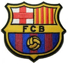 1 X Fc Barcelona Futbol Football Soccer Ironon Embroidered Patch Emblem Logo