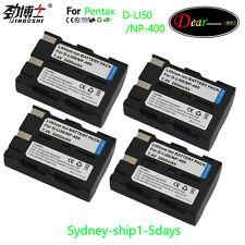 New 4XD-li50 D-l150 Battery for K10 K10D K20D GP Grand Prix GX-10 GX-20 Dli50 AU