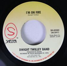 Rock 45 Dwight Twilley Band - I'M On Fire / Did You See What Happened? On Shelte