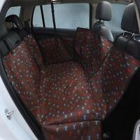 Waterproof Pet Dog Car Rear Seat Cover Protector Mat Hammock Cushion