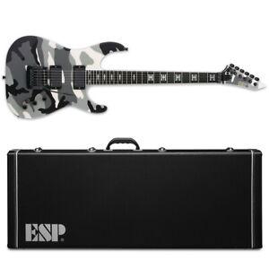 ESP Jeff Hanneman Urban Camo Electric Guitar + Hard Case Made in Japan