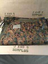 "USMC Marine Poncho Liner Blanket ""WOOBIE"" MARPAT / Coyote Grade C Heavier Fading"