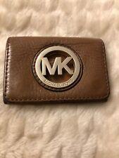 Ladies MICHAEL KORS MK Brown Genuine Leather Purse Wallet -