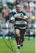 FREDERIC MICHALAK - Hand Signed 6x4 Photo - Toulon France Barbarians - Rugby