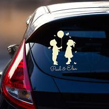 Autotattoo Kinder Autoaufkleber Heckscheibe Junge Mädchen & Wunschnamen M2196