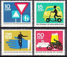DDR 1966 Mi. Nr. 1169-1172 Postfrisch ** MNH