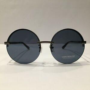 Lucky Brand Sunglasses Sloan Gunmetal/Blue 53 mm Non-Polarized