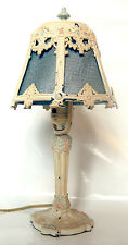 Antique Cast Iron Child's Table Lamp early 1900s - Works Great!