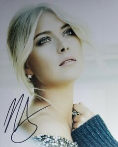 Maria Sharapova Hand Signed 8x10 Photo W/ Holo COA