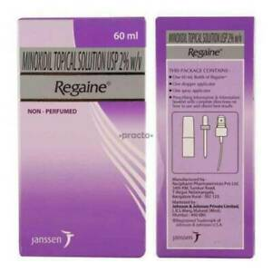 New Regaine Regular Strength 60ml Minoxidil 2% Scalp Hair Loss Solution