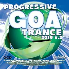 PROGRESSIVE GOA TRANCE  2016 VOL.2 (MONOLOCK, BIOCYCLE, MATURE,...) 2 CD NEW+