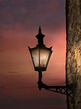 OLD LAMP TUSCAN VILLAGE SUNSET PHOTO ART PRINT POSTER PICTURE BMP474A