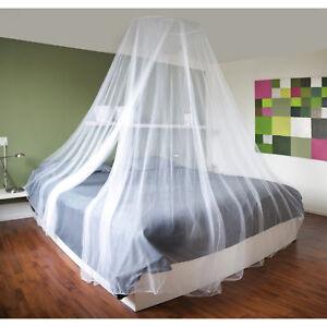 XXL Doppelbett Moskitonetz Fliegengitter Fliegennetz Mückennetz Betthimmel