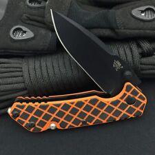 Sanrenmu 7056 BallBearing Pivot System 8Cr13MoV Black Blade Folding Pocket Knife