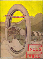Marcello Dudovich -Pneus PIRELLI-soldati-guerra-comitiva pubblicità VINTAGE 1916