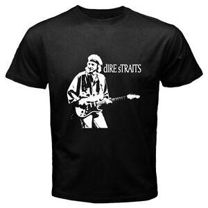 DIRE STRAITS MARK KNOPFLER THE NOTHING Logo Mens Black T-Shirt Size S-3XL