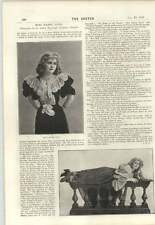 1894 Miss Mabel Love Interview