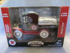 Gearbox Toy  1912 Ford Texaco Coin Bank   1:24 scale   NIB   w-10
