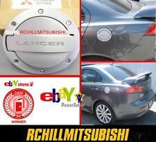2008-2012 GENUINE  MITSUBISHI LANCER ALLOY FUEL DOOR GAS LID OEM MZ314041