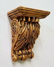 Vintage Classical Shelf Acanthus leaf Wall Corbel Sconce Bracket