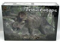 Pegasus Hobbies 9550 Triceratops (1:32) Three-Horned Face Dinosaur Model Kit NIB