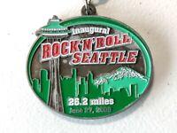 Inaugural Rock 'n' Roll Seattle 26.2 Miles Marathon Medal Space Needle 2009