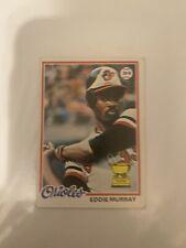 1978 Topps #36 Eddie Murray RC Rookie Ex-Exmt