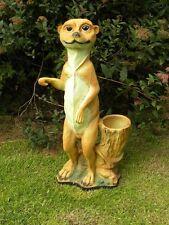Erdmännchen Dekofigur Figur Tierfigur Garten Deko NEU Kunststoff