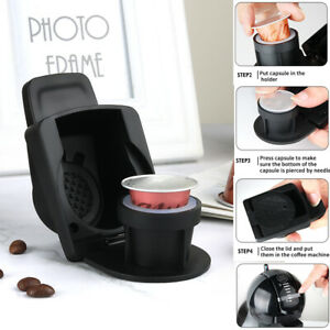 ICafilas Coffee Capsule Converter Adapter for Nespresso Compatible Dolce Gusto