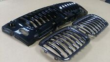 BMW 5 Series E34 94-95 Front Grille Grills Performance Style Black Chrome