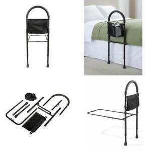 Bed Rails For Elderly Adult Seniors Handicap Adjustable Bedrail Safety Guard New