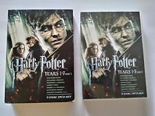 Harry Potter DVD Collection Years 1-7 Part 1 Set DVD 7 Discs