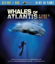 Jules Verne Whales of Atlantis in Search of Moby Dick(Two -Disc Blu Ray/Dvd Comb