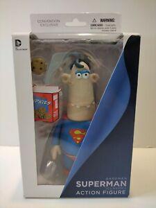 DC Collectibles Aardman Superman Action Figure Sealed Convention Exclusive
