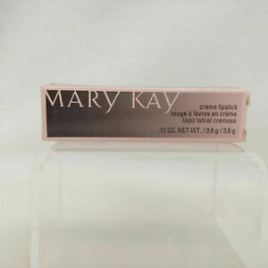 Mary Kay ICY PEACH Creme Lipstick #027589 Black Tube DISCONTINUED Full Size