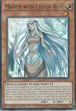 YU-GI-OH ULTRA RARE CARD: MAIDEN WITH EYES OF  BLUE - LDK2-ENK06 1ST EDITION