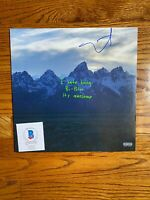 KANYE WEST SIGNED YE VINYL ALBUM LP AUTOGRAPH BAS COA JESUS IS KING DONDA PABLO