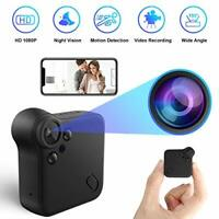 Mini Spy Camera 1080P HD Hidden Camera WiFi Wireless Small Security Surveillance