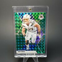 Joey Bosa MOSAIC PRIZM CHARGERS BLUE BURST CARD - UV CASE - INVESTMENT - MINT