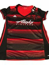 Adidas Climalite Women's Portland Timbers Soccer Jersey NWT $75 Large