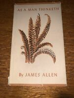 As a Man Thinketh by James Allen RARE EDITION LDS Mormon