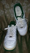 2009 Nike Air Force 1 White and Green Size 11 Mens 315122-134 AF1